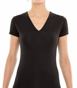 2er Pack Frauen T-Shirt V-Auschnitt St. Anna  - Saint Basics
