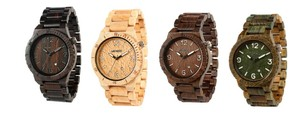 WeWood Alpha Armbanduhr aus Holz - Wewood