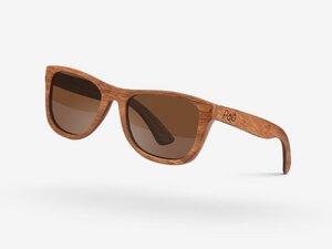 Palo Sonnenbrille aus Holz - Guyana Pear - Palo