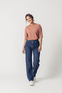 Jeans High Waist Straight Leg - Maya - United Change Makers