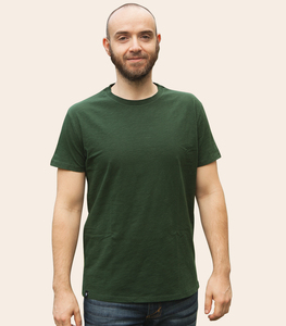 Basic / Blanko - Fair gehandeltes Bio Männer T-Shirt Slub - päfjes