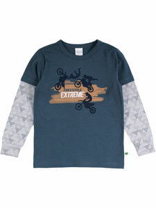Fred's World Kinder Langarm-Shirt Free Style Bio-Baumwolle - Fred's World by Green Cotton