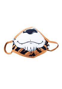 Kinder Mund-Nasen-Maske aus recyceltem Polyester TIGERDO Tiger braun - WeeDo