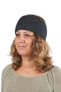 AlpacaOne Alpaka Stirnband Aspen für Damen und Herren Baby Alpaka Wolle - AlpacaOne