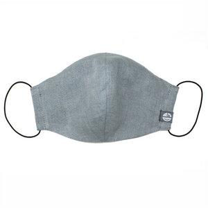 Mund- und Nasen-Maske aus Leinen - Pünktchen Komma Strich