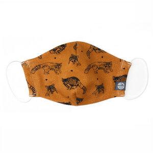 Mund- und Nasen- Maske für Kinder - Pünktchen Komma Strich