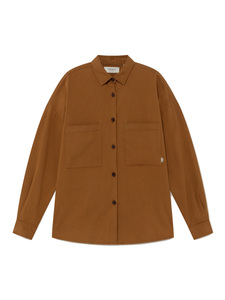 Bes Overshirt caramel - thinking mu