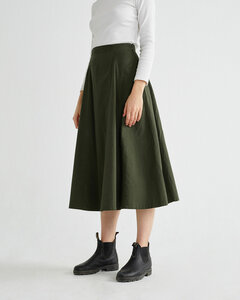 Rati Skirt green - thinking mu