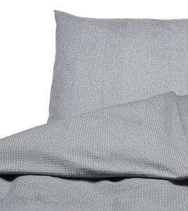 """Bettwäsche-Set David """"Rippen"""" aus Recycling Baumwolle - Fussenegger Heimtextilien"""