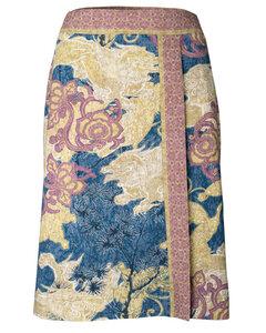 """Rock aus Bio-Baumwolle mit Art-Print """"Geisha Skirt"""" - Alma & Lovis"""
