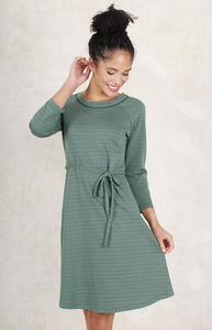 """Kleid aus Bambus-Faser und Bio-Baumwolle """"LB-041 Tilde"""" - Lykka du Nord"""