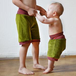 Kurze Nickihose für Kinder & Babys - grün - Cmig