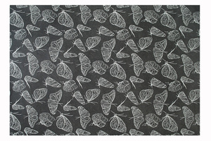 Geschenkpapier Schmetterling  - Biostoffe Berlin by Julie Cocon