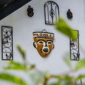 Wanddeko Mask Mexiko - Mitienda Shop