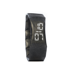 Armband Uhr Slim - Just Black - paprcuts
