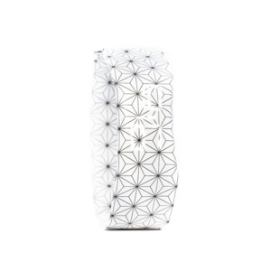 Armband Uhr Slim - Stars Black White - paprcuts