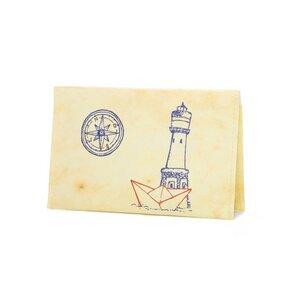Kartenetui - Leuchtturm - paprcuts