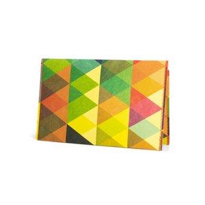 Kartenhalter - Dreiecke Bunt - paprcuts