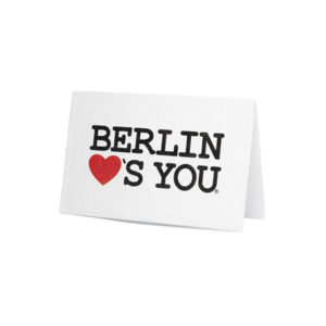 Kartenetui - Berlin Loves You - paprcuts
