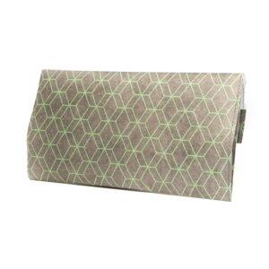Tabakbeutel - Hexagon Grey Green - paprcuts