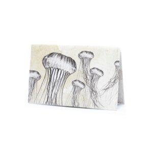 Kartenhalter - Jellyfish - paprcuts