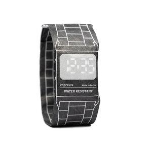 Armband Uhr - Retro Black - paprcuts