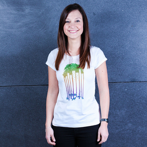 City Zoo - Frauenshirt aus Biobaumwolle - Coromandel