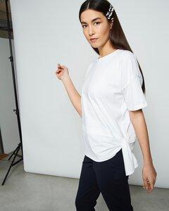 T-Shirt KNOT weiß - JAN N JUNE