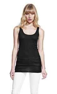 Women's Sheer Jersey Tank - Continental Clothing