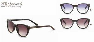 WeWood Sonnenbrille The Xipe - Brown - aus Baumwollfaser - Wewood