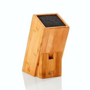Universal Messerblock / Messerhalter aus 100% Bambus - Bambuswald