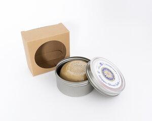 Olivenseife mit äth. Lavendelöl  100g in Dose - Finigrana