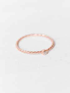 Ring »Zirkonia« aus 925 Sterlingsilber - Oh Bracelet Berlin