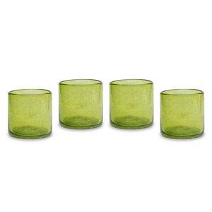 Gläser 4er Set, handgemacht - Mitienda Shop