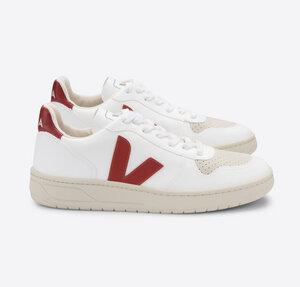 Sneaker Herren Vegan - V-10 CWL - White Rouille - Veja