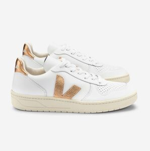 Sneaker Damen - V-10 Leather - Extra White Venus - Veja