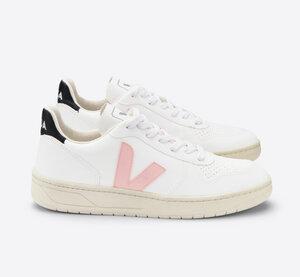 Sneaker Damen Vegan - V-10 CWL - White Petale Black  - Veja