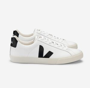 Sneaker Damen  - Esplar Logo Leather - Extra White Black  - Veja