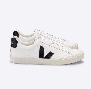 Sneaker Herren - Esplar Logo Leather - Extra White Black  - Veja