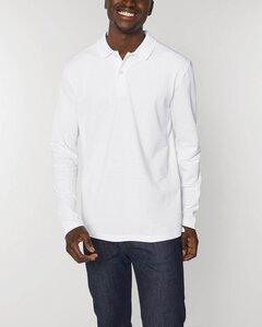 Herren Langarm Poloshirt aus Bio-Baumwolle - YTWOO
