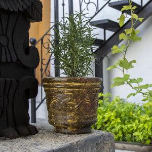 Blumentopf Vaso Azteca - Mitienda Shop