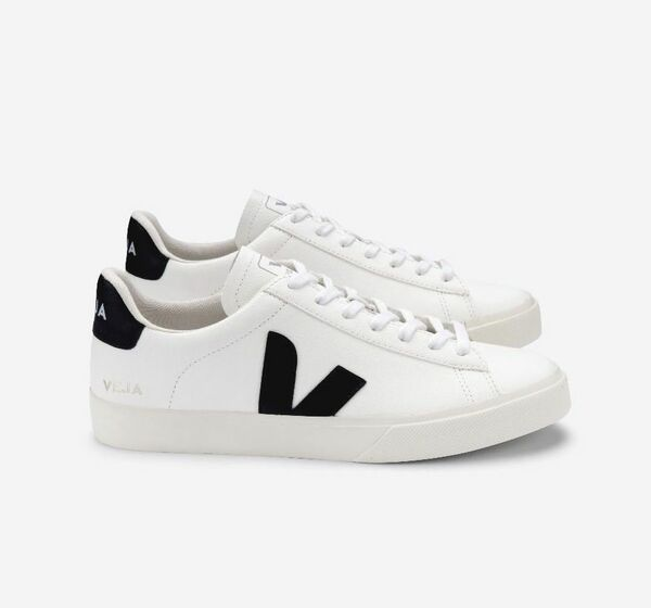 Sneaker Herren Campo Leather White Black