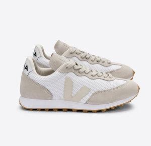 Sneaker Damen - Rio Branco Alveomesh - White Pierre Natural - Veja