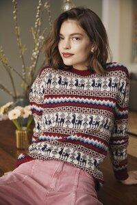 100% Alpaka Wolle (limitierte Edition) – Inka Strickpullover 'Alpaca' - ACHIY