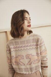 Inka Strickpullover 'Puma Pastell' - ACHIY