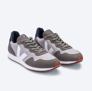 Sneaker Herren Vegan - SDU REC B-Mesh - Silver White Nautico - Veja