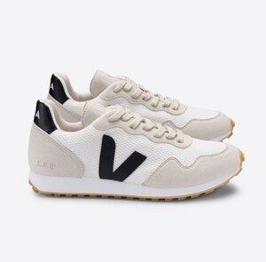 Sneaker Herren Vegan - SDU - Alveomesh - White Black Natural - Veja