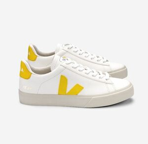 Sneaker Damen - Campo Easy Chromefree Leather - Extra White Tonic - Veja