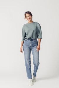 Jeans High Waist Straight Leg - Maya - United Change Makers