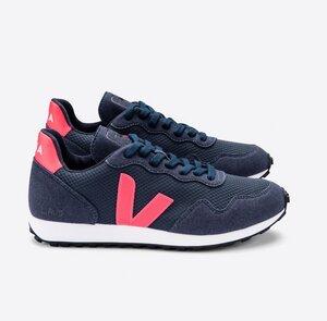 Sneaker Damen Vegan - SDU REC Alveomesh - Nautico Rose-Fluo - Veja